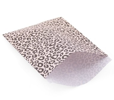Cadeau-zakjes Luipaard print | set 4  17x 25cm
