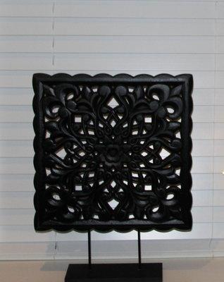 Ornament Zwart Paneel