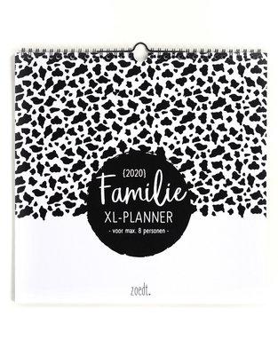 XL Familieplanner 2020 Zoedt