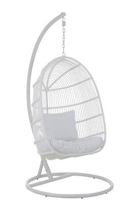 Hangstoel Ovaal Wit /  J-LINE