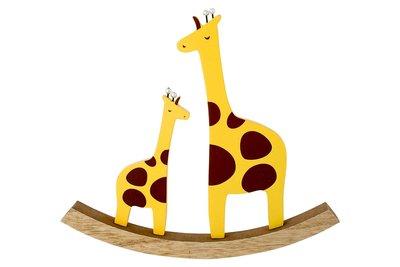Schommel decoratie Giraffe-hout