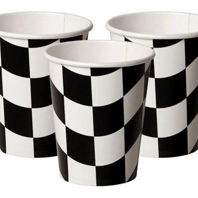 Bekers Grand Prix zwart wit