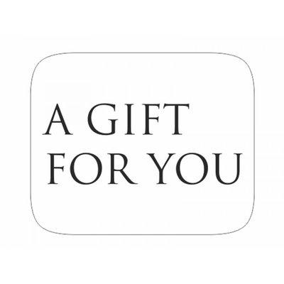 GRATIS BIJ EEN BESTELLING VANAF €20,00/ Stickers a gift for you wit 6 X