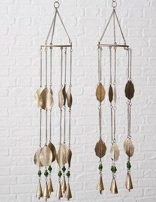 Windgong blad antiek goud