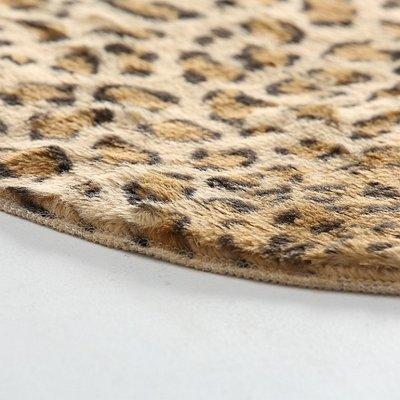 Kleedje voor op tafel 35 cm. rond Leopard