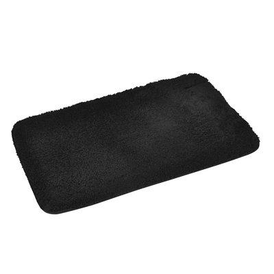 Badmat extra zacht zwart 50x80cm