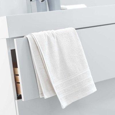 Handdoek 50x90 cm naturel 100% katoen 2 stuks €14,00