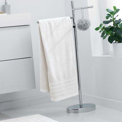 Handdoek 70x130 cm naturel 100% katoen 2 stuks € 25,00