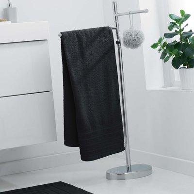 Handdoek 70x130 cm zwart 100% katoen 2 stuks € 25,00