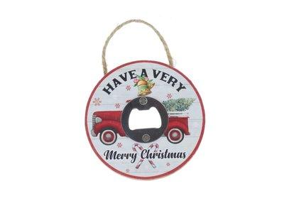 Flesopener Merry  Xmas 10cm