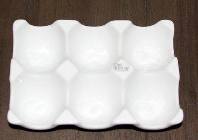 Eierhouder | 6  eieren | wit