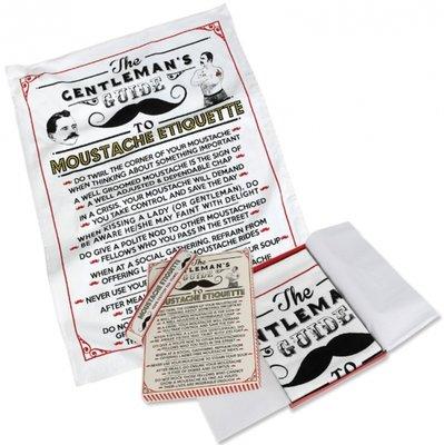 Theedoeken Moustache | 2 st.