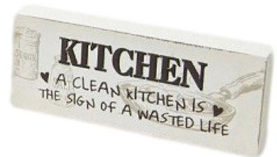 Tekstbord Kitchen