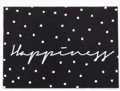 Kaart Happiness met enveloppe