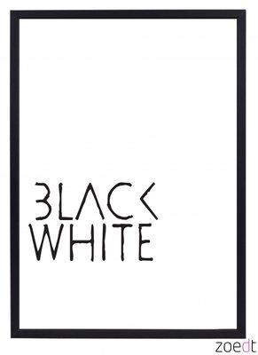 Poster | Black White