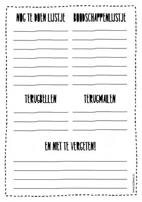 Notitieblok | Planner A5