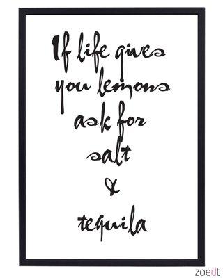 Poster | If life gives you lemons..
