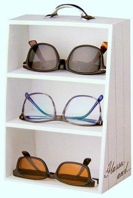 Etagekastje voor brillen | Brillenkastje