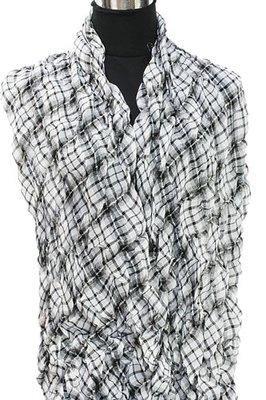 Sjaal | Zwart Wit