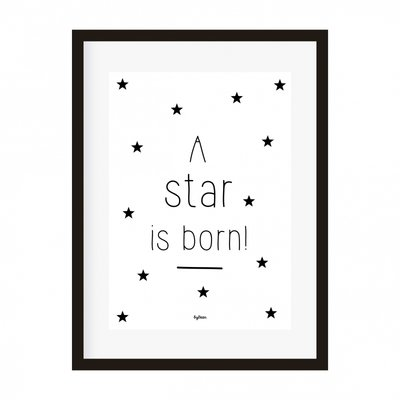 Poster   A star is born!
