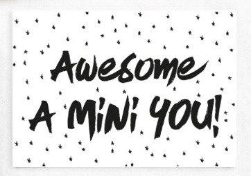 Kaart Awesome a mini You