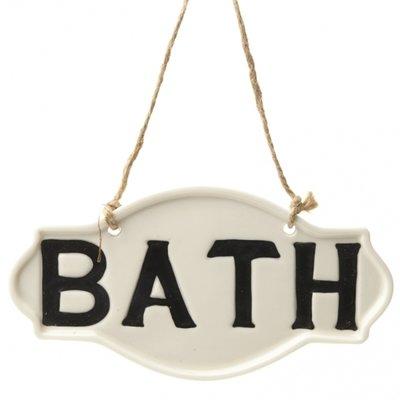 Tekstbordje | Bath