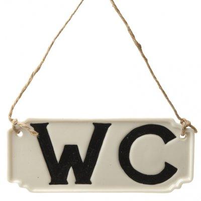 Tekstbordje | W.C.
