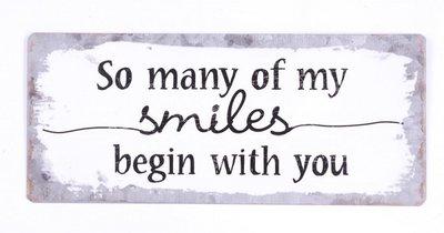 Tekstbord |Smiles