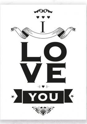 Kaart I I Love You