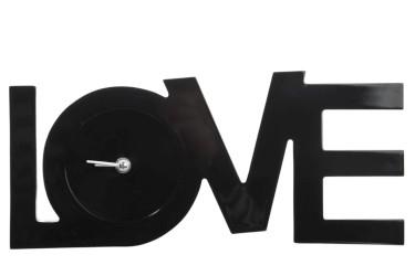 Klok | LOVE | zwart