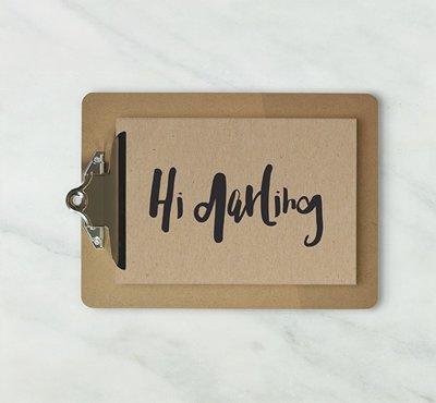 Kaart | Hi Darling