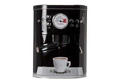 Voorraadbus koffiemachine  Zwart of Grijs
