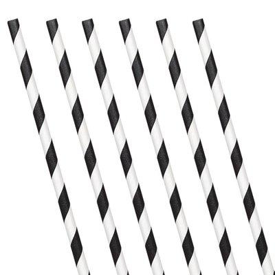 Rietjes  | Zwart met streep 24
