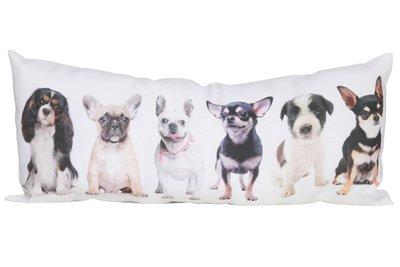 Kussen | Honden | 40 x 16 cm.