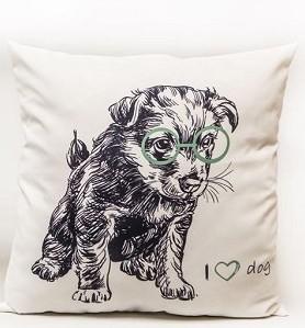 Kussen | I Love Dog | 45x45
