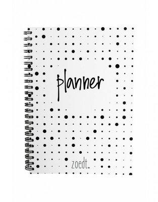 Planner met stippen