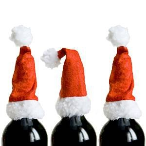 Christmas Bottle Toppers 4 st.