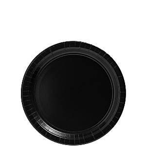 Bord |karton zwart 18 cm
