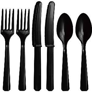 Bestek |plastic zwart