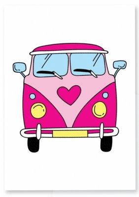 Kaart | VW Busje | Hart