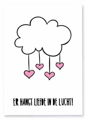 Kaart | Er hangt liefde in de lucht!