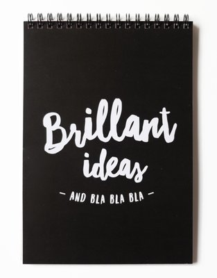 Noteblok BRILLANT IDEAS