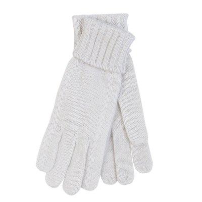 Handschoenen Wit Clayre & Eef