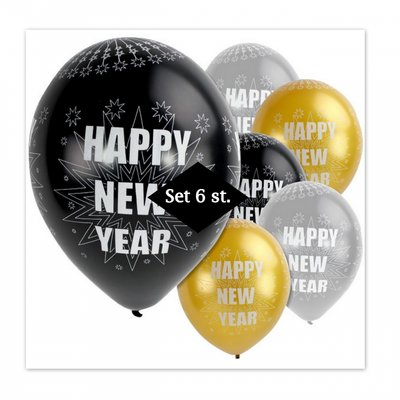 Ballonnen | Happy New Year