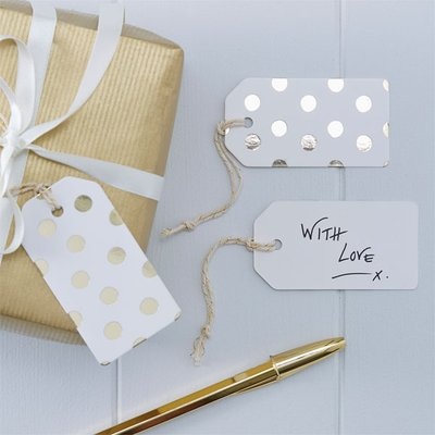 Cadeaulabels | Set 10 | Goud
