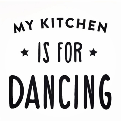Photoblock | My Kitchen is for dancing