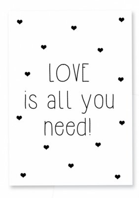 Kaart | Love is all you need!
