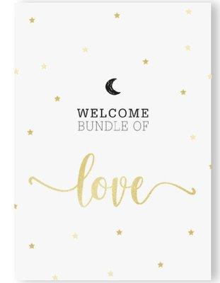 BUNDLE OF LOVE WELCOM BABY +enveloppe.
