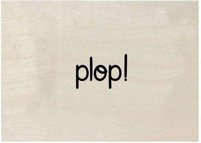 Houten kaart | PLOP!