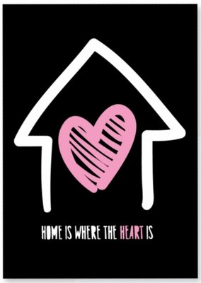 Kaart | Home is where the heart is